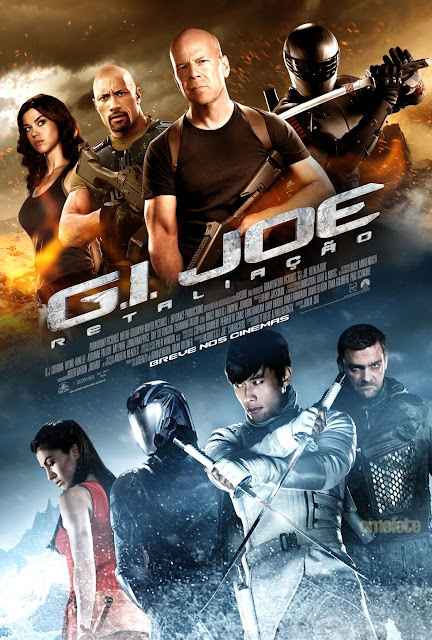 gi joe retaliation international poster G.I. Joe 2 (2013) Dvdrip Español Latino