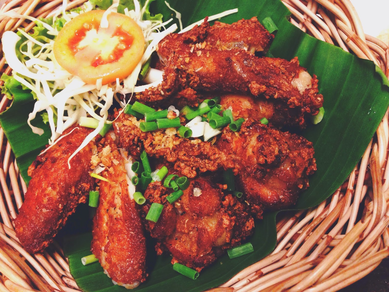 Som Tam Siam Square Fried Chicken
