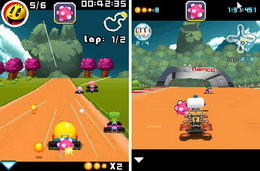 PAC-MAN Kart Rally for Java, BREW, BlackBerry and Windows Mobile phones released