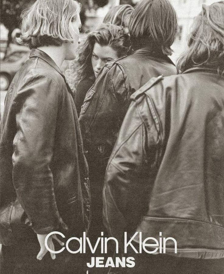 90s Carre Otis By Bruce Weber for Calvin Klein