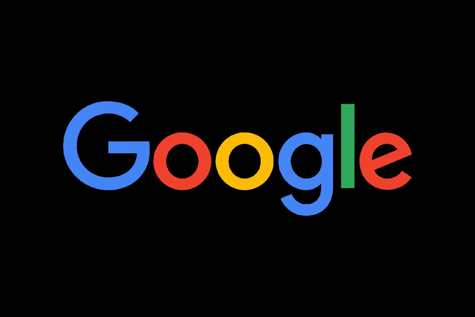 google new logo logo cdr vector