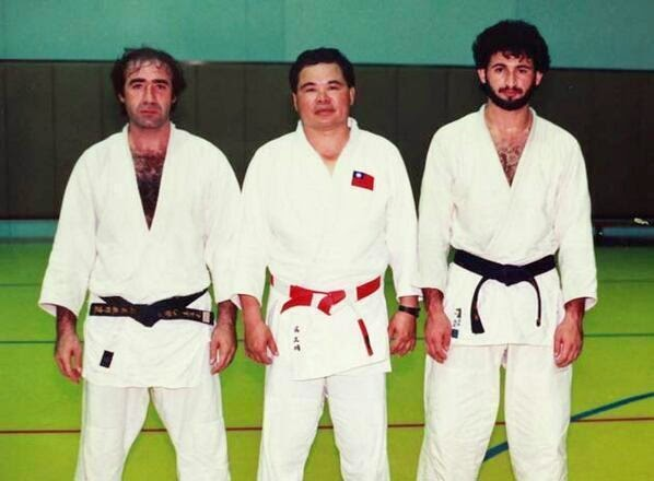 64 Historical Pictures you most likely haven't seen before. # 8 is a bit disturbing! - 14. Osama Bin Laden and his judo mates