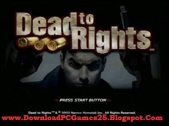 Dead To Rights 1 PC
