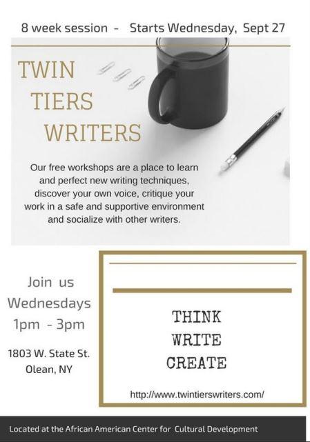 9-27 Twin Tiers Writers