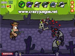 Jugar Zombie West - www.crazyjuegos.net