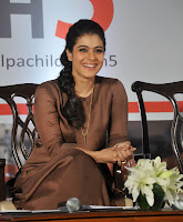 Kajol Devgan promotes 'Help A Child Reach 5' campaign at  event