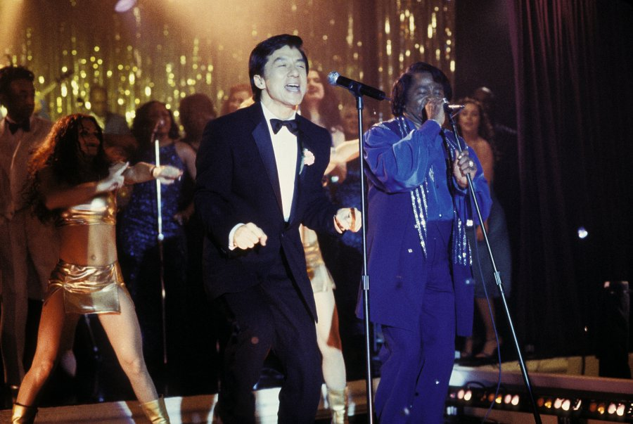 Jackie Chan and James Brown