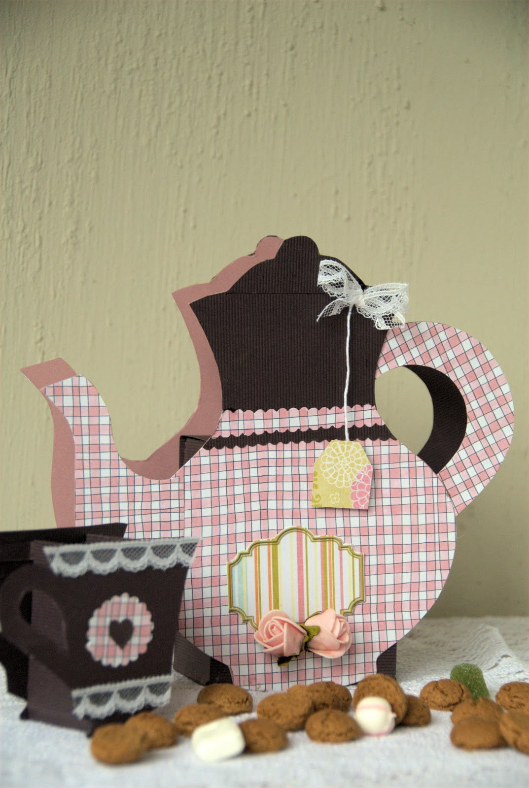 Jalien cozy living suprise papieren theepot for Huis maken surprise