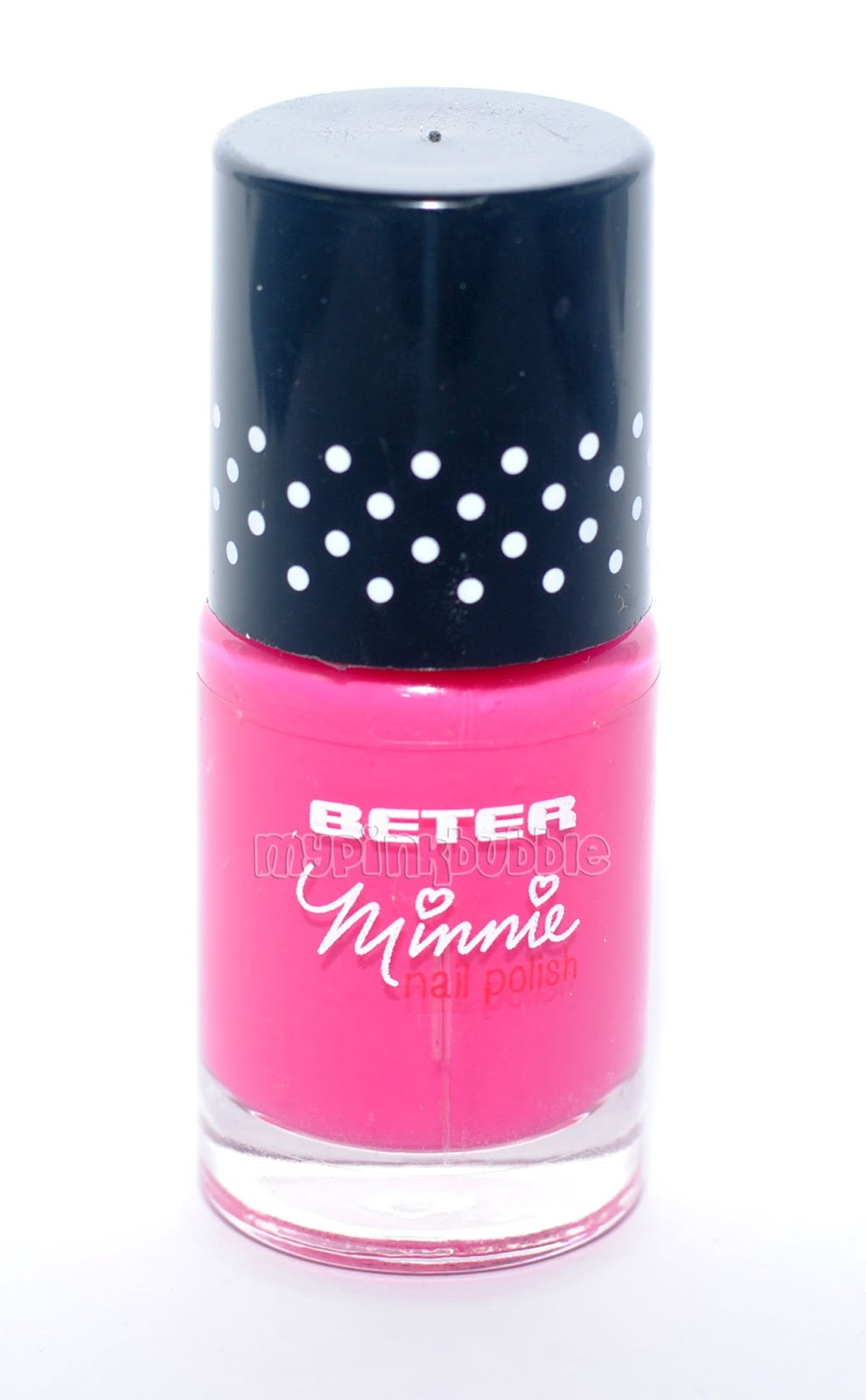 beter minnie make up pintauñas rosa fucsia
