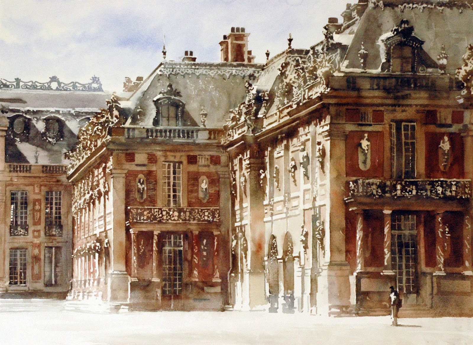 Art of watercolor watercolors of the week - Le comptoir des arts saint paul trois chateaux ...