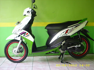 Modifikasi mio j 2012