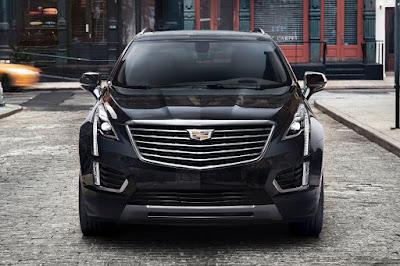 Cadillac XT5 (2017) Front