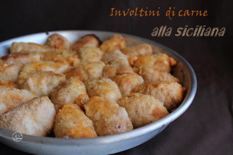 involtini di carne alla siciliana: la video ricetta