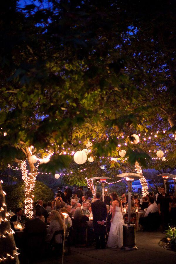 iluminación banquete boda