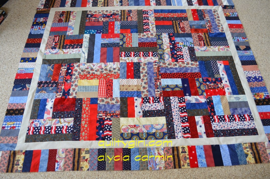 Quilt Patterns Using 6 Strips : 2 Inch Strip Quilt Patterns - Bing images