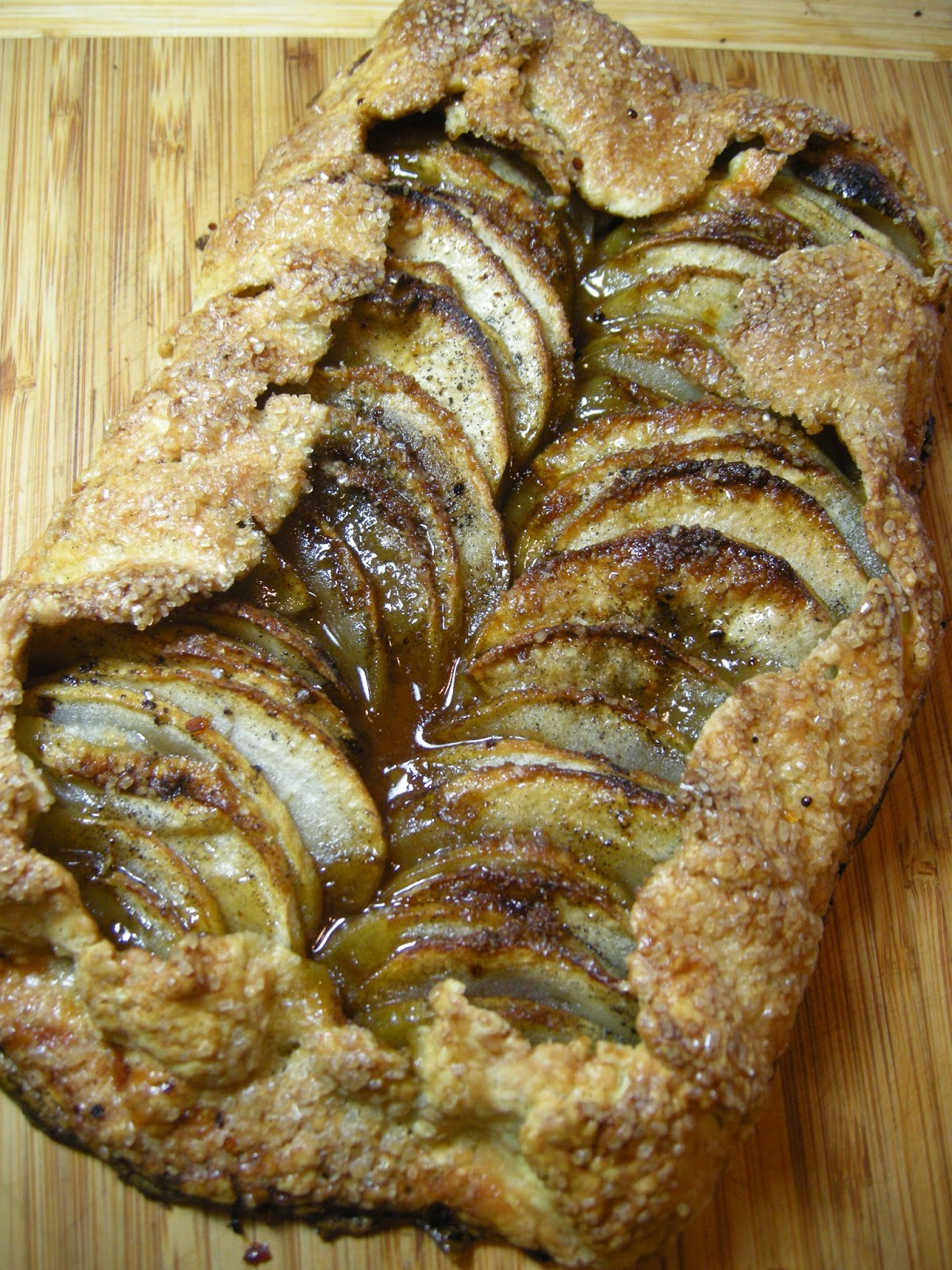apple dee doo dah!  rosie makes an apple galette.