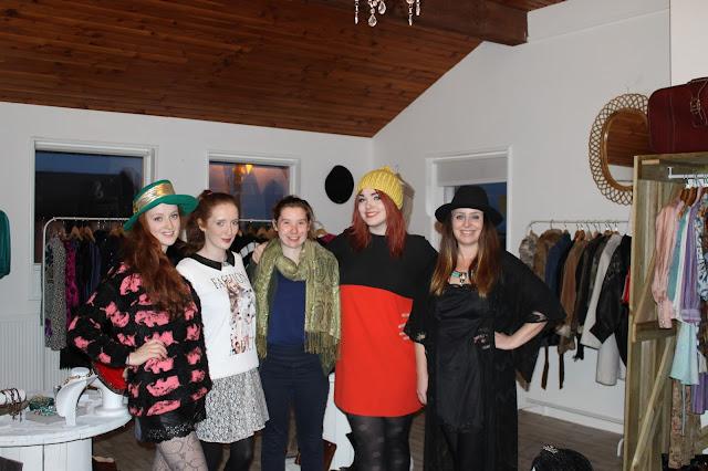 Cotton Face Vintage Shop Spiddal Party
