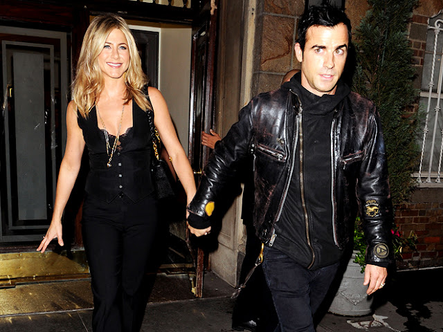 Jennifer Aniston, Justin Theroux, style, celebrity, fashion