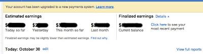 Sistem Pembayaran Baru Google Adsense