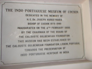 """Indo-Portuguese Museum"" inside  ""Bishop House"" complex."