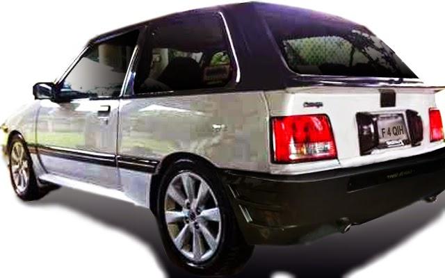 modifikasi bemper belakang Suzuki Forsa