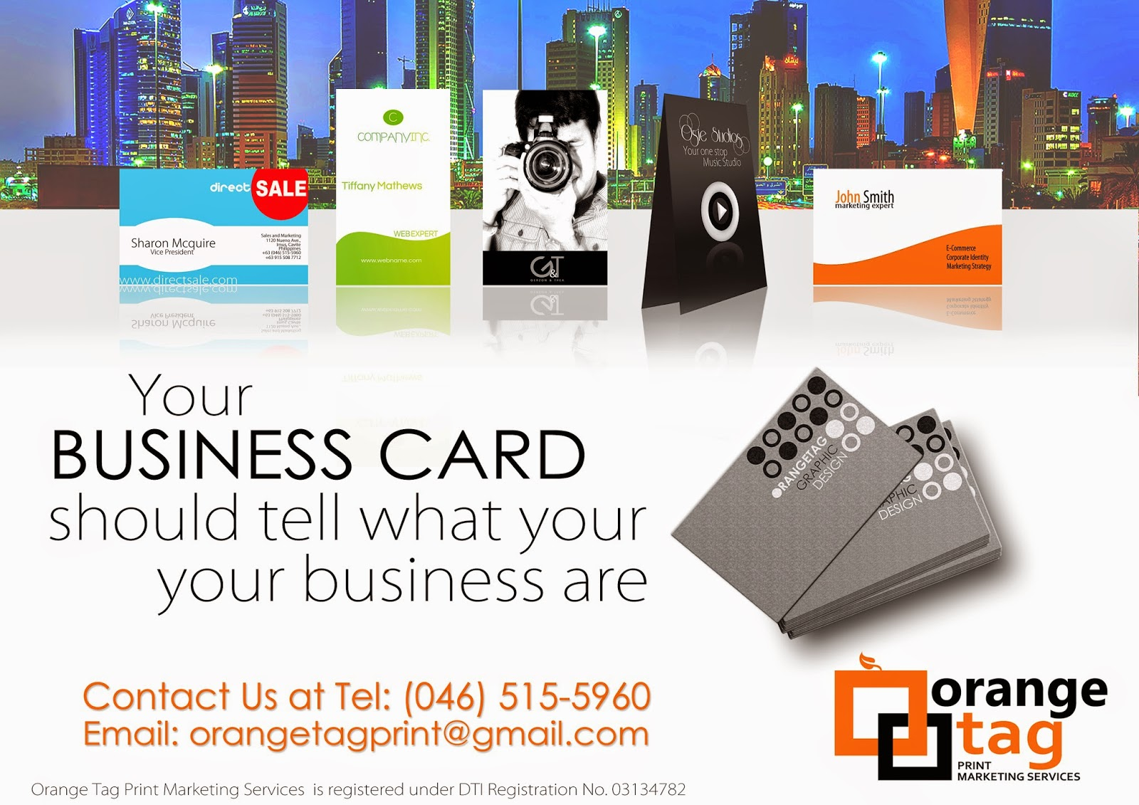 Orange tag print marketing services reheart Images