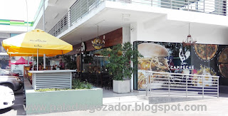 Campeche restaurant La Reina exterior