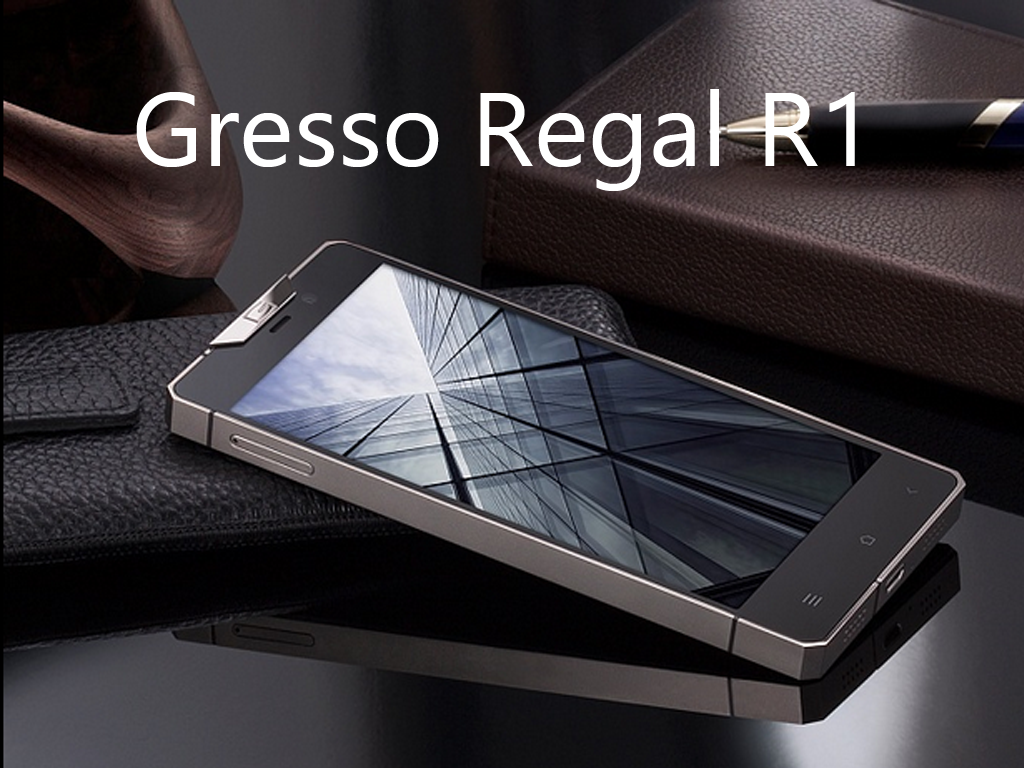 Gresso Regal R1, World's Thinnest Luxury Android Smartphone, Made of Titanium and Priced at $3000