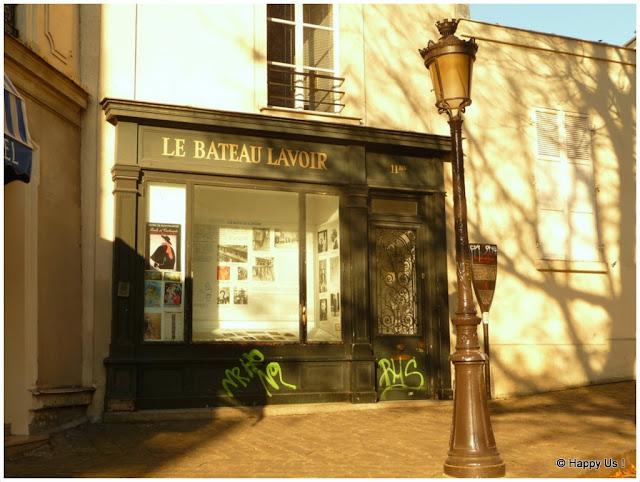 Montmartre - Le Bateau Lavoir