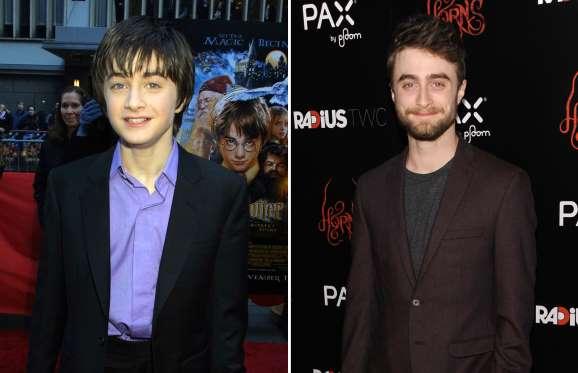 o Harry Potter quando era criança
