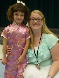 Katie and her teacher Mrs. Atwood