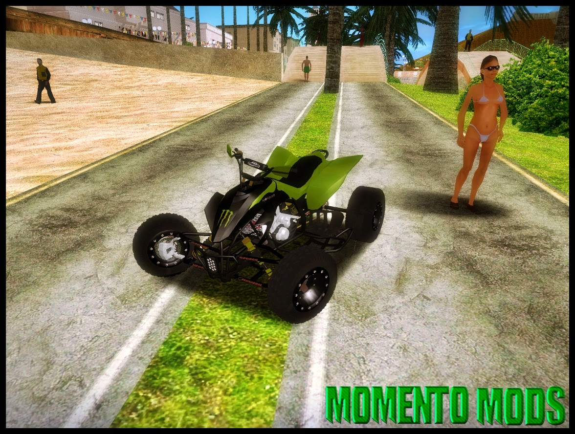 GTA SA - Quad Kawasaki Monster