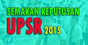 Semak Keputusan UPSR 2015
