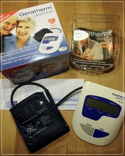 Geratherm desktop Blutdruckmessgerät