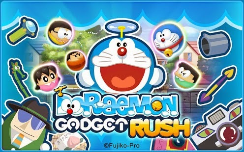 Doraemon Gadget Rush Gameplay IOS / Android