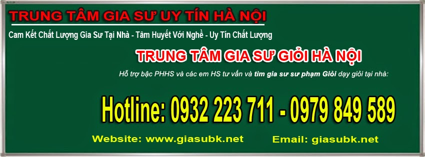 Gia Sư Tại Quận Long Biên