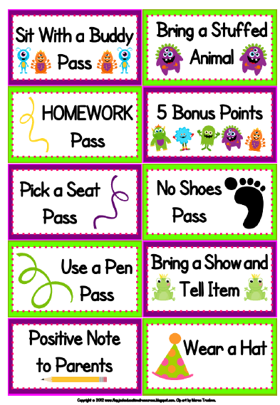 Classroom Reward Ideas For Kindergarten ~ Learning with firsties class dojo and my