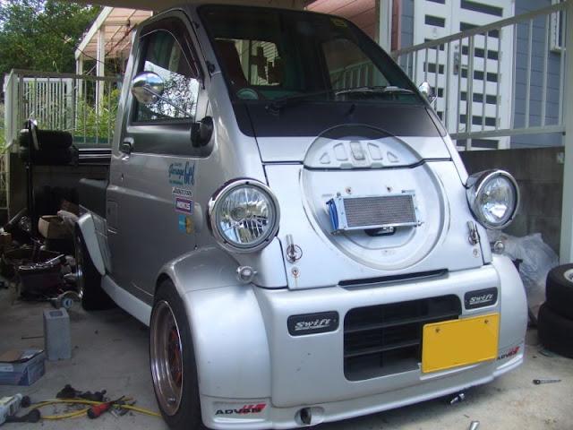 Daihatsu Midget II, tuning w Japonii, ciekawe modyfikacje, niespotykane samochody