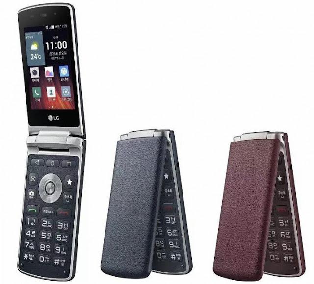 تكشف شركة إل جي عن هاتفها الذكي القابل للطي LG Gentle