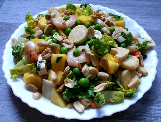 Gourmandine concours salade d 39 t resultats - Salade d ete composee ...