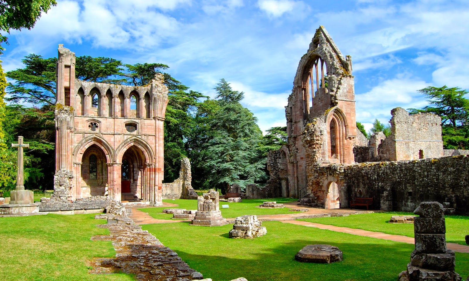 Nave of Dryburgh Abbey