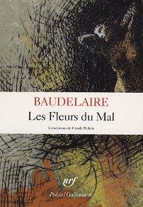 Portada de Las flores del mal, poemas de Baudelaire