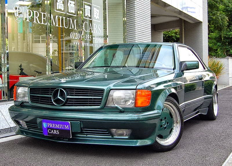 Mercedes benz c126 500sec amg widebody benztuning for C 500 mercedes benz for sale