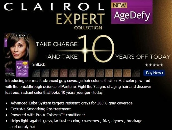 Shades Of Clairol Hair Color