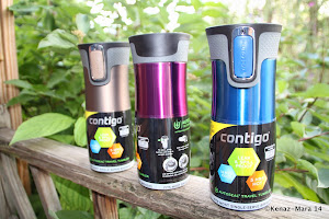 WIN A Pair of Contigo Stainless 16oz West Loop Autoseal Travel Mugs ($42 value) 2 Winners.Till 11/7
