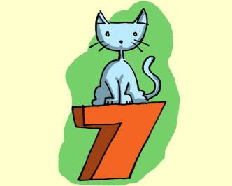 Gato tem 7 vidas
