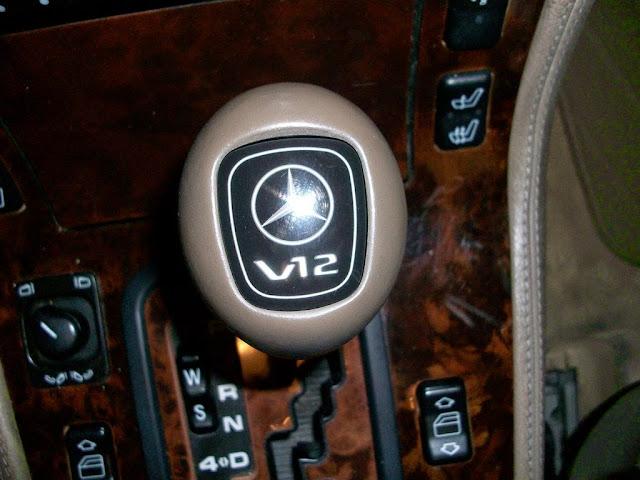 mercedes w140 s600 transmission