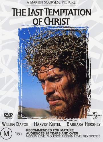the last temptation of christ, martin scorsese