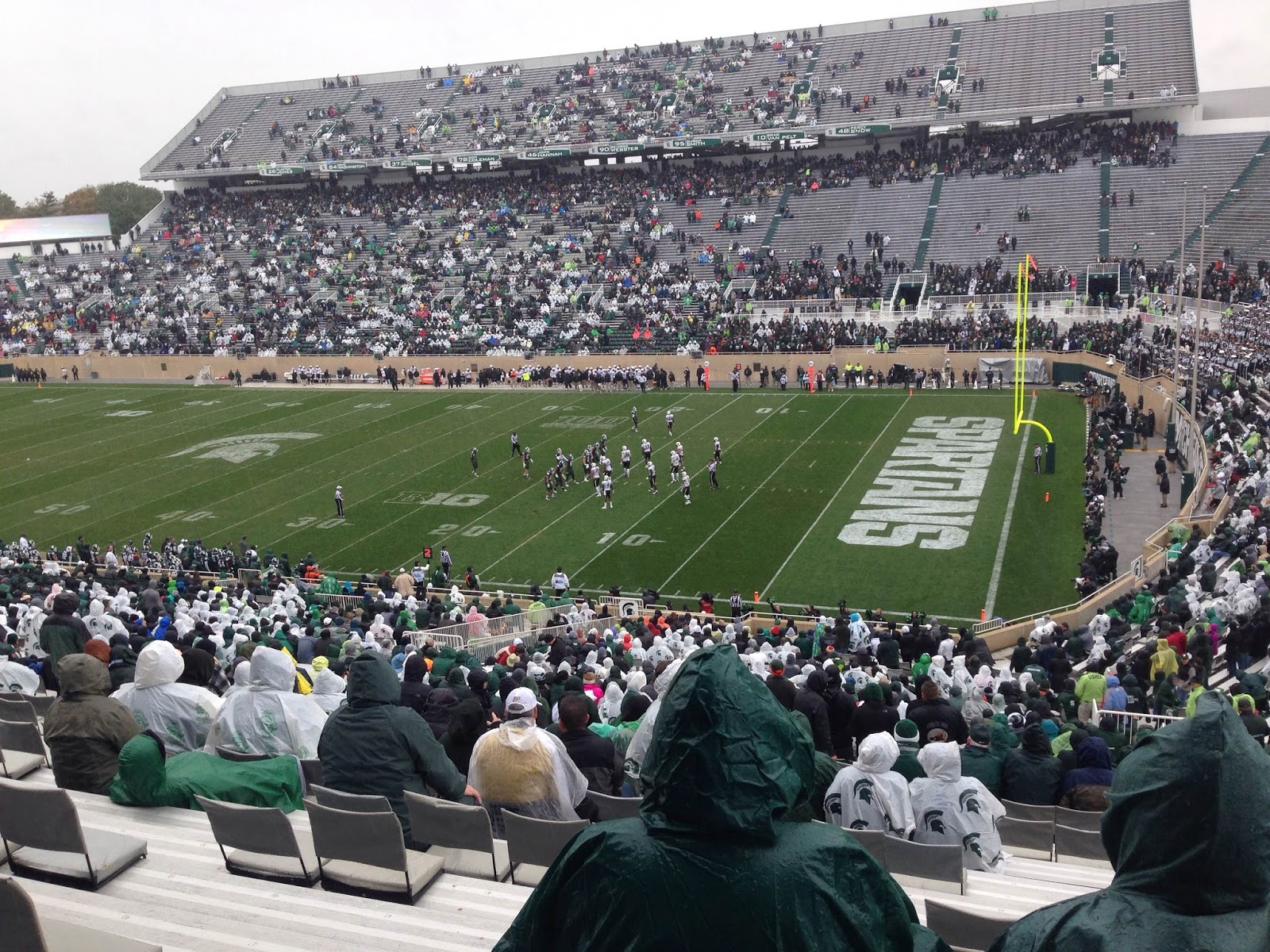 Image result for spartan stadium no crowd