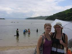 Hoi Ha beach.